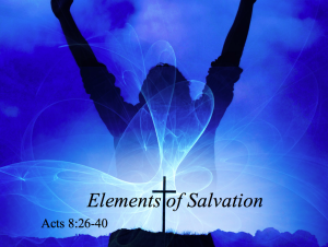 Elements of Salvation